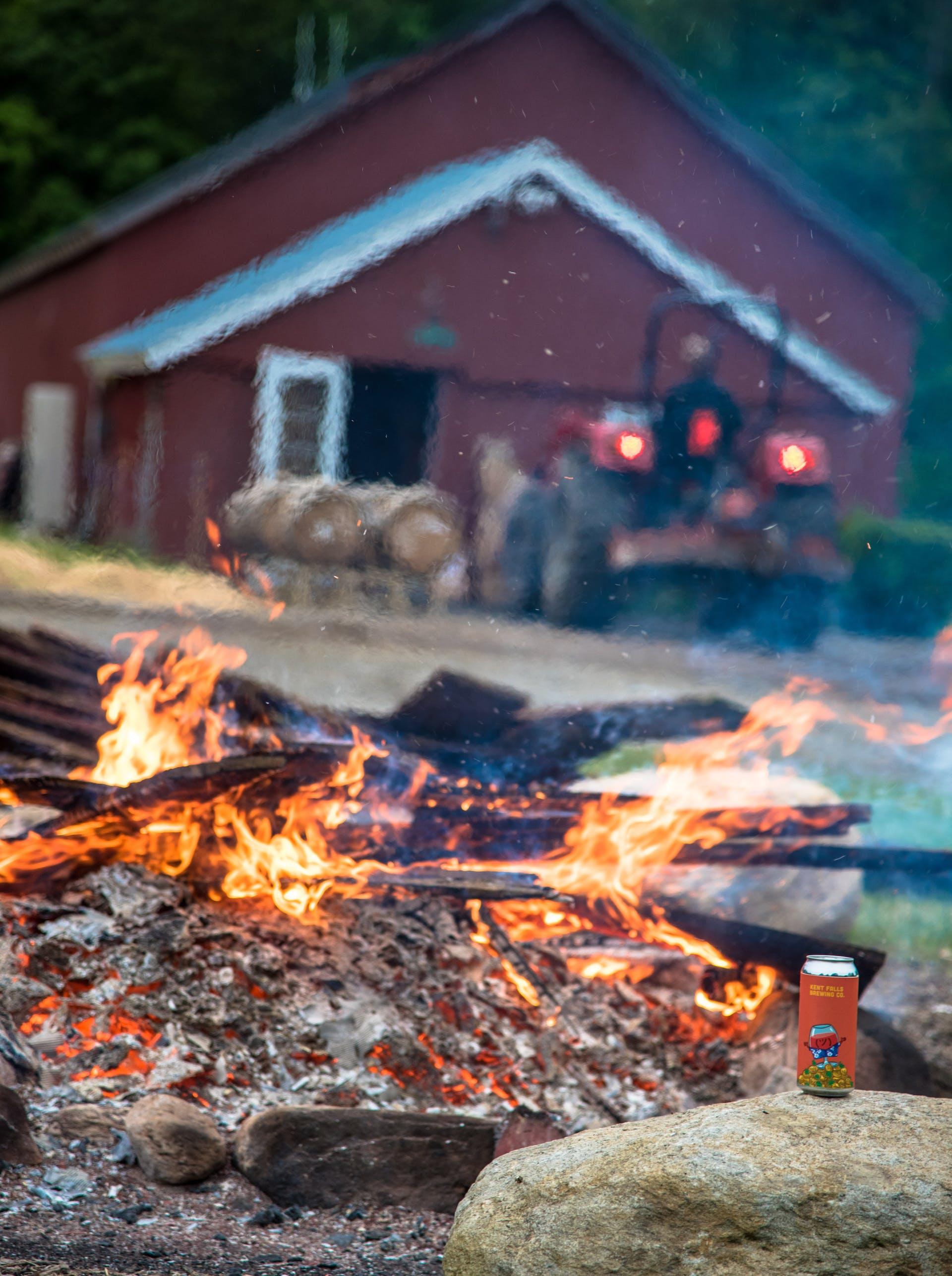 Bonfire While Moving Barrels-2281