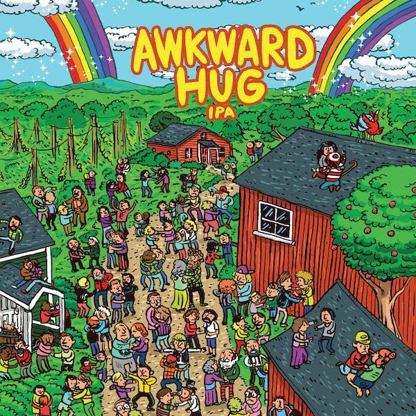 Awkward Hug