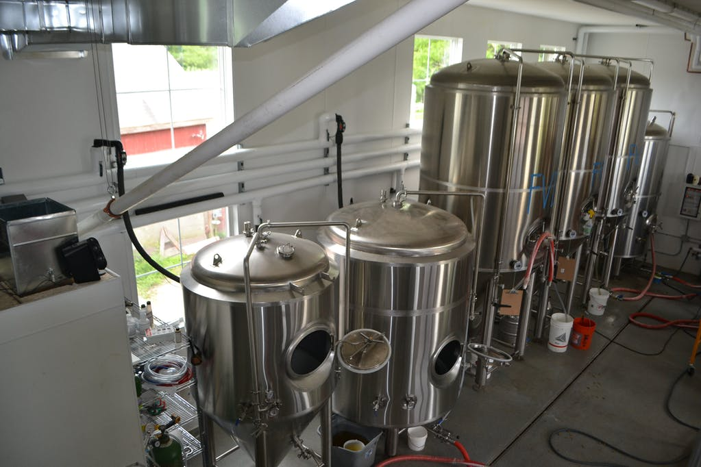 All hooked up to glycol and ready to go!