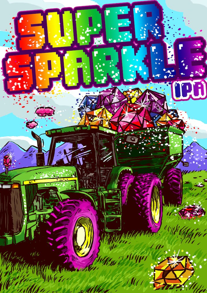 Super Sparkle Cropped