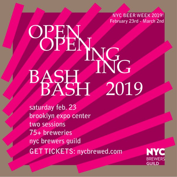NYC Beer Week Opening Bash