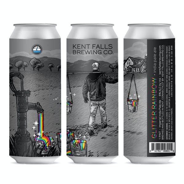 Beer Release: All Alone Mosaic + Glitter Rainbow