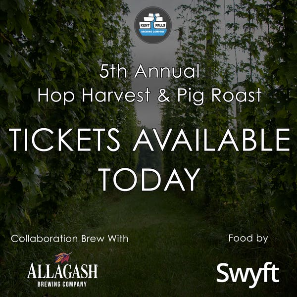 HOP HARVET TICKETS AVAILABLE NOW