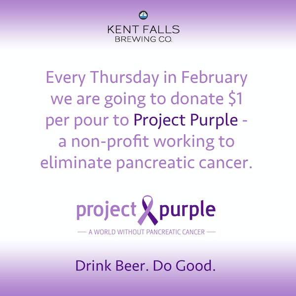 Drink Beer. Do Good. – Pancreatic Cancer Fundraiser