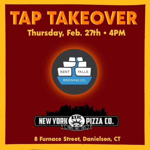 New York Pizza Tap Takeover